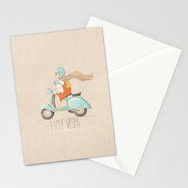 I love Vespa Stationery Cards