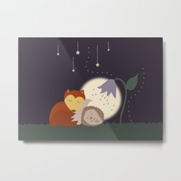 Goodnight Friends Metal Print
