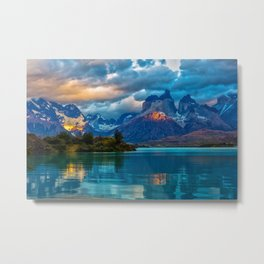 Mountains of Dreams Metal Print