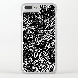 Swirled Clear iPhone Case