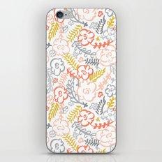 Floral Brush iPhone Skin