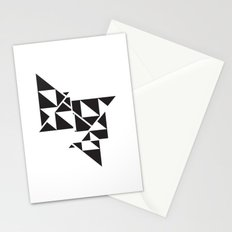 Triangle Angles Stationery Cards