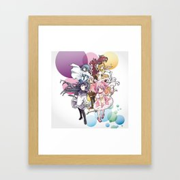 Puella Magi Madoka Magica - Only You Framed Art Print