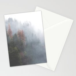 Misty Forest Stationery Cards
