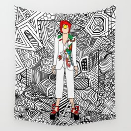 Heroes Fashion 7 Wall Tapestry