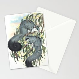 Sugar Glider in the forest of Australia and USA Stationery Cards