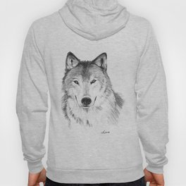 Wolf head Hoody
