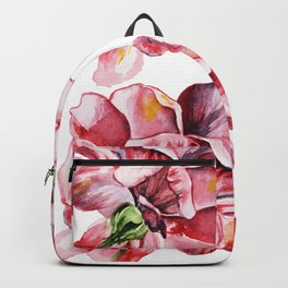 Peony Pattern Backpack
