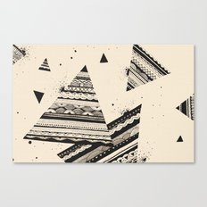 Pattern Doodle Two Canvas Print
