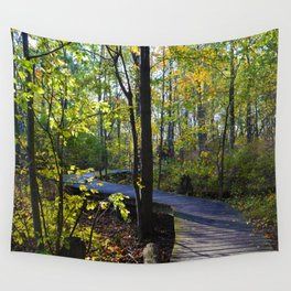 Boardwalks of southern Ontario, CA Wall Tapestry