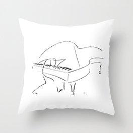 Keith Jarrett – Improvisations in Jazz Throw Pillow