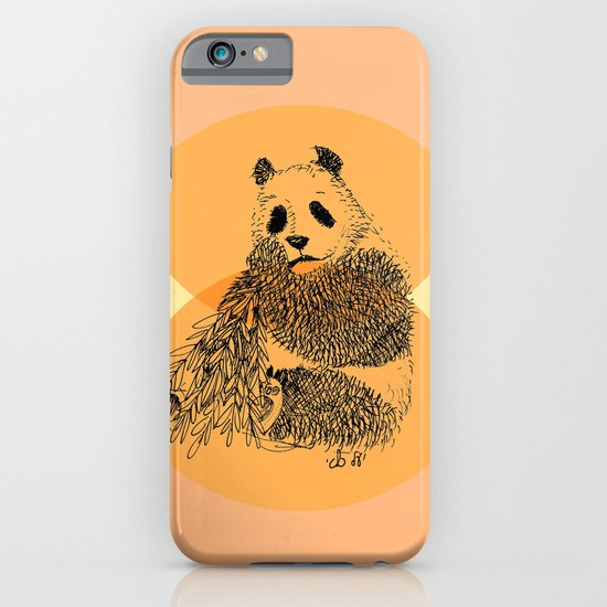 saving panda iPhone & iPod Case
