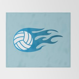 The Volleyball I Throw Blanket