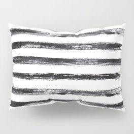 Grungy stripes Pillow Sham