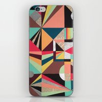 prism iPhone & iPod Skins featuring Prism by Kerry Lacy