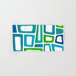 Mid Century Boxy Abstract Hand & Bath Towel