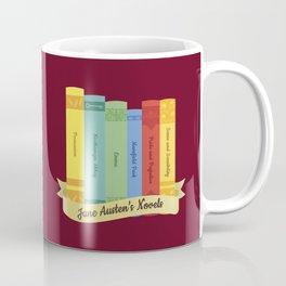 The Jane Austen's Novels IV Coffee Mug