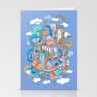kpop Stationery Cards featuring George's place by Polkip