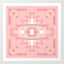 ojo de infinito Art Print