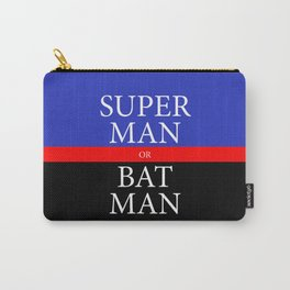 SUPER or BAT Carry-All Pouch