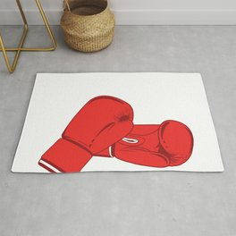 Boxing It's Cheaper Than Therapy Simple Boxing Shirt For Boxers T-shirt Design Ring Gloves Knock Out Rug