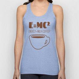 E=MC COFFEE T-SHIRTS Unisex Tank Top