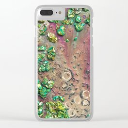 Accretion, drink from the empyrean elixir littered with chimeric loam Clear iPhone Case