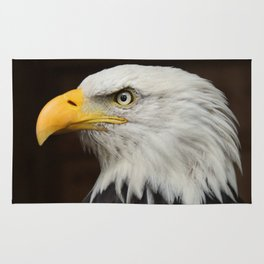 Eagle Photography | Nature | Wildlife Art | American | Rustic Wall Art | Animal Photography Rug