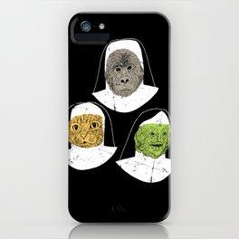Creatures of Habit iPhone Case