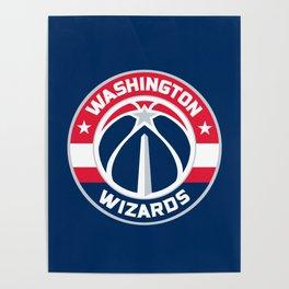 WashingtonWizards Logo Poster