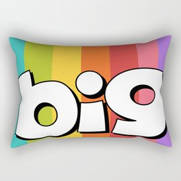 Big Ol Trouble Rectangular Pillow