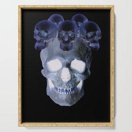 Skull Crown Serving Tray