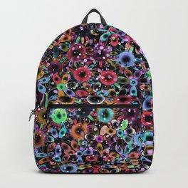 Vivid Floral Pattern 4181C Backpack