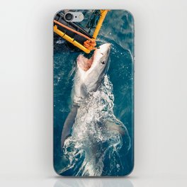 South Africa - Great White Shark Bite 3 iPhone Skin