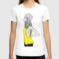tank girl T-shirts featuring Tank by fossilized