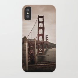 San Francisco, Golden Gate Bridge iPhone Case