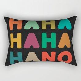Hahahahaha no Rectangular Pillow