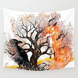 Forever Autumn Wall Tapestry