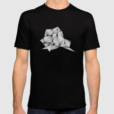 Structure (XYZ) Black MEDIUM Mens Fitted Tee