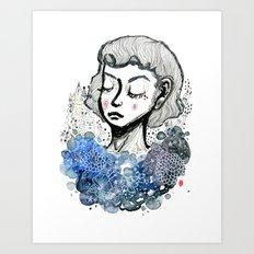Girl's Dream Art Print