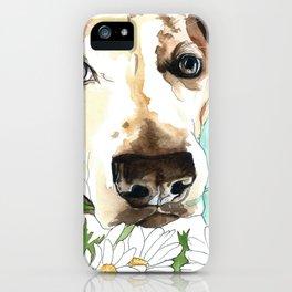 Watercolor Wildflowers & her Bestie iPhone Case