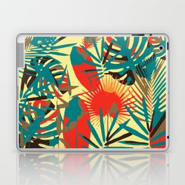 Abstract Exotique Leaves Laptop & iPad Skin