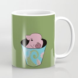Chris P Bacon Piglet In A Bucket Coffee Mug