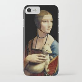 Leonardo da Vinci - The Lady with an Ermine iPhone Case