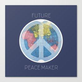 Future Peace Maker Canvas Print