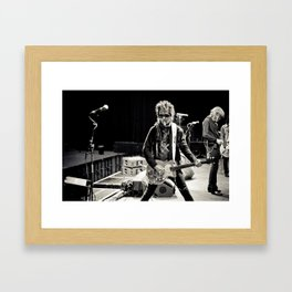 New York Dolls (Soundcheck) Framed Art Print