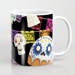 Skulls y Papel Picado Coffee Mug