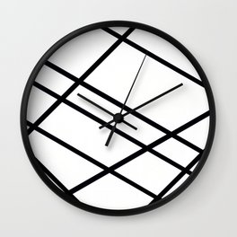 Related Lines Wall Clock