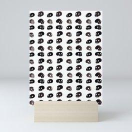 A Series of Skulls Mini Art Print