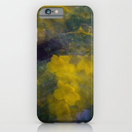 Colorful Flower Motion iPhone Case